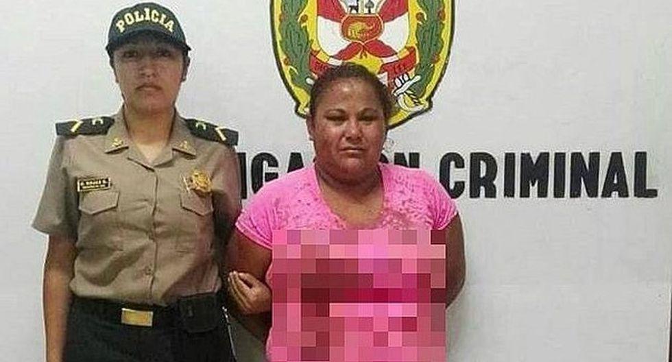 Mujer asesinó a su pareja al enterarse que la dejaría. (PNP)