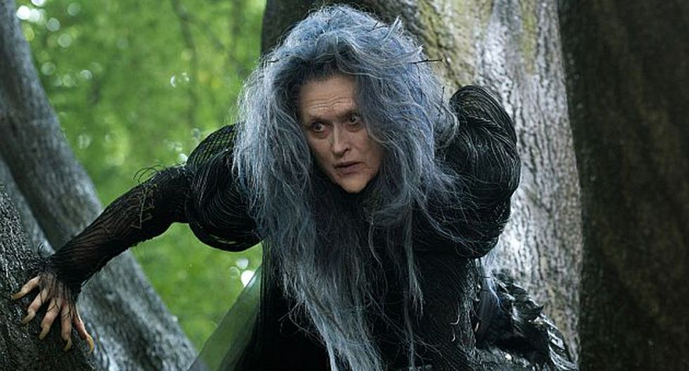 Meryl Streep interpreta a la bruja mala de 'Into the woods'. (Internet)