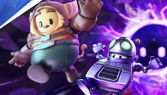 Los atuendos de los reconocidos personajes de PlayStation llegarán a 'Fall Guys'.