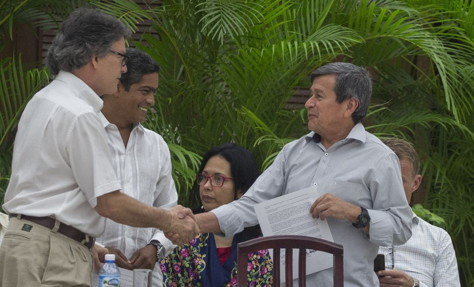 Proceso de pacificación en Colombia se inició hace más de un año. (Foto: AP)