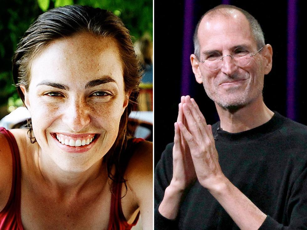 Lisa Brennan-Jobs publicará su libro que cuenta la tormentosa relación con su padre Steve Jobs. (Composición)
