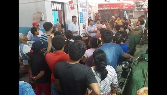 Alcalde de Pisco  garantiza seguridad y orden en mercados (Foto: Carmen Quispe)