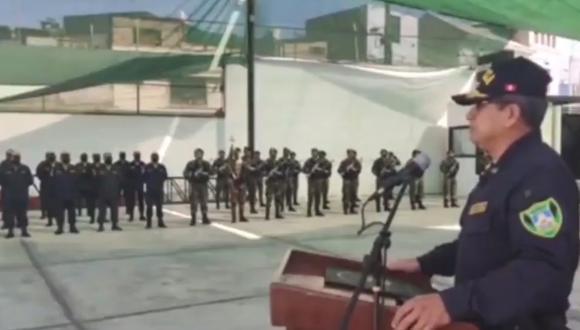 """Jefe Policial en Arequipa: """"Como nos duele que nos vean y digan que somos criminales"""" (Foto: captura de pantalla   Arequipa es Diferente)"""