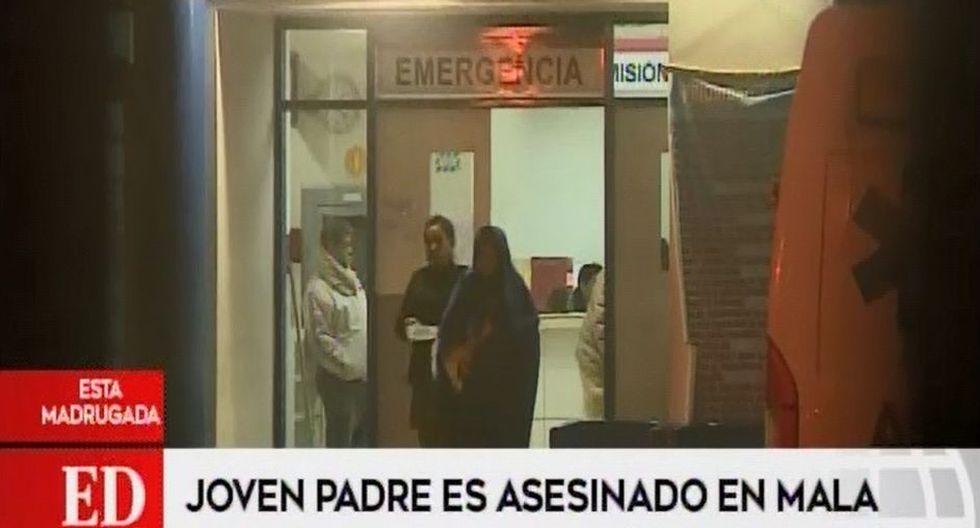 Saúl Josué Espinoza Huamán había acudido hasta Mala para visitar a su hija y fue atacado cuando iba a retornar a Lima. (Captura: América Noticias)