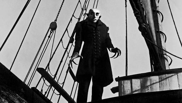 Max Schreck es la primera persona que interpretó a un vampiro en el cine.