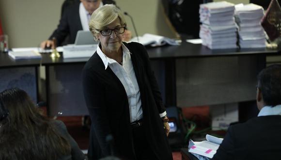 Susana Villarán es investigada por presuntamente recibir aportes ilícitos en sus campañas. (GEC)