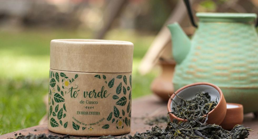 Té verde. La salud de papá es muy importante y este té verde de la ofrece finas hebras cultivadas en Huayopata, Cusco. (Foto: Difusión)