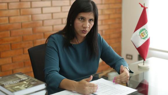 Silvana Carrión sostuvo que se debe fortalecer el trabajo coordinado entre los equipos que investigan casos de corrupción transnacional (Foto: Anthony Niño de Guzmán / GEC)