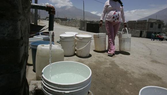 Sunass comprobó que Sedapal no cumplió con su horario de abastecimiento de agua. (Perú21)