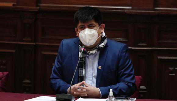 El congresista Lenin Checco fue denunciado por presunto acoso laboral y abuso de autoridad contra su exasesora Gabriela Salvador. (Foto: Angela Ponce / GEC)