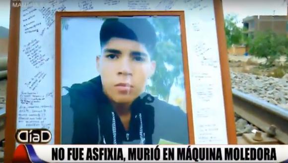Juan Solís Martinez no murió asfixiado, sino triturado. (Foto: Día D)