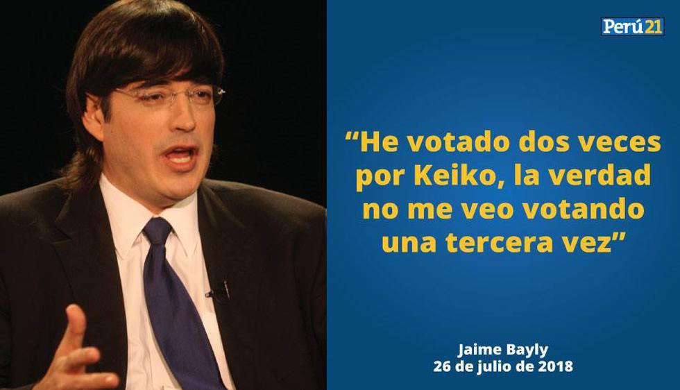 Jaime Bayly Estoy Harto De Los Fujimoristas Videos Politica Peru21 El conductor jaime bayly ha sido un ferviente crítico al régimen de nicolás maduro. jaime bayly estoy harto de los