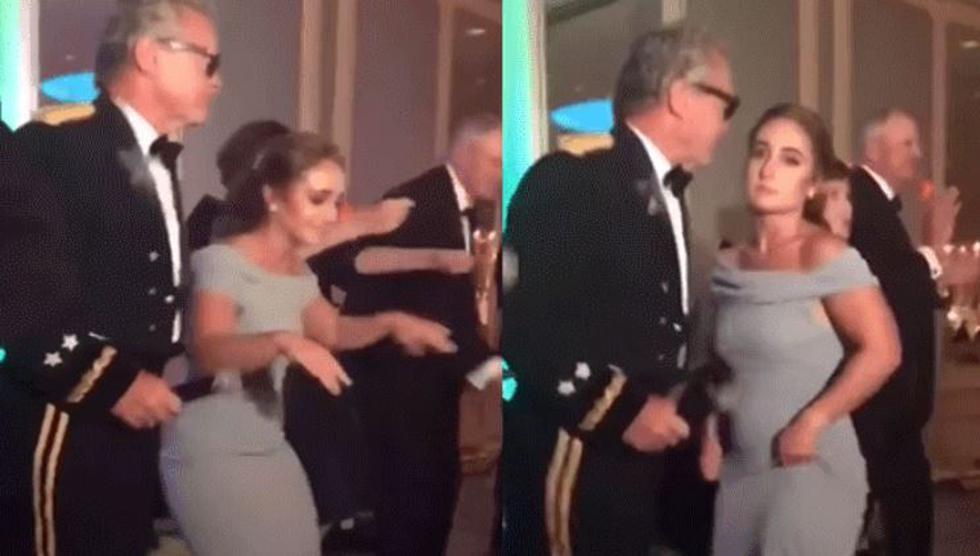 Muchacha intenta hacer twerking y su papá tiene insólita reacción. (Facebook viral)
