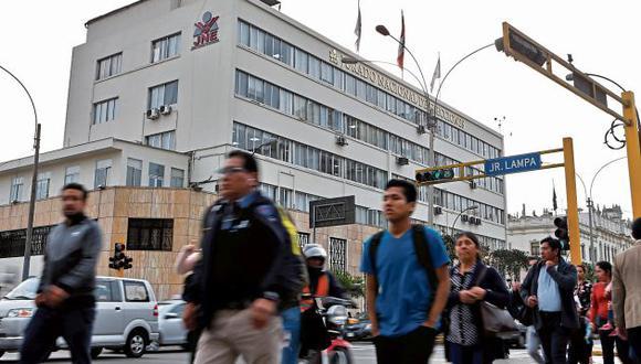 El JNE decidió no aplicar la valla electoral para las elecciones del próximo 26 de enero. (GEC)