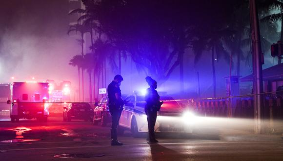 La Policía identificó a los dos sospechosos, que aparentemente no están relacionados, por las grabaciones de cámaras de seguridad (Foto: Chandan KHANNA / AFP)