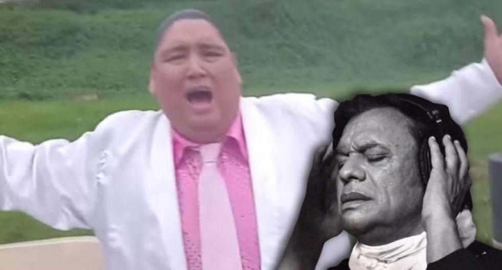 YouTube: Tongo se transforma en Juan Gabriel y canta 'Querida' [VIDEO]