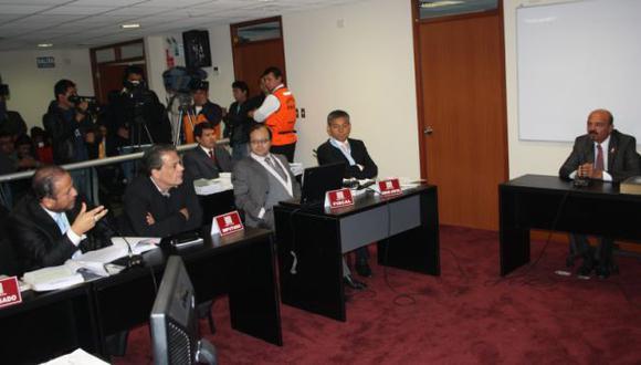 Guillermo Arteta declara en juicio contra Miguel Chehade por caso Andahuasi. (Difusión)