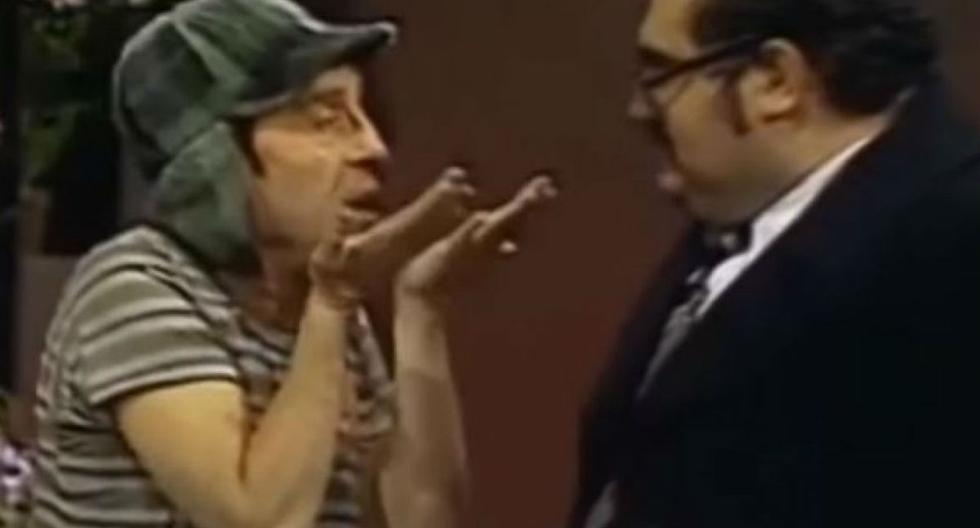 El Chavo del 8 y el Señor Barriga siempre sacaron risas a los seguidores de Chespirito. | Foto: Captura