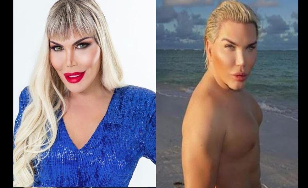 Rodrigo Alves, el 'Ken humano' se declaró una mujer transgénero, y ¡ahora es Barbie!. (Instagram)
