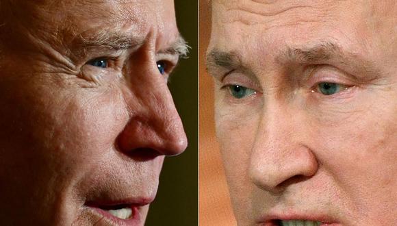 A mediados de abril, Biden propuso en una conversación telefónica con Putin reunirse durante este verano (boreal) en un tercer país, con el objetivo de estabilizar las relaciones entre ambas potencias rivales, que se encuentran en sus niveles más bajos. (Fotos: JIM WATSON y Alexander NEMENOV / AFP).