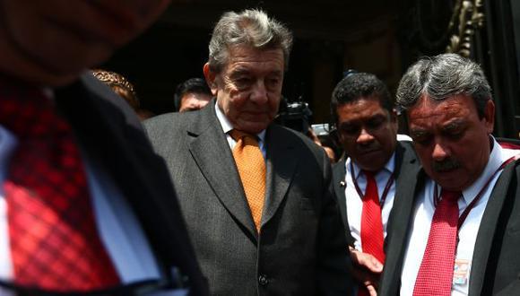 SÍ, PERO NO. Roncagliolo utilizó la agencia oficial para retractarse. (Rafael Cornejo)