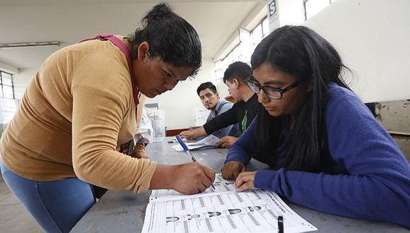 El referéndum marcó un punto de quiebre en el escenario político. (Foto: Percy Ramírez/ GEC)