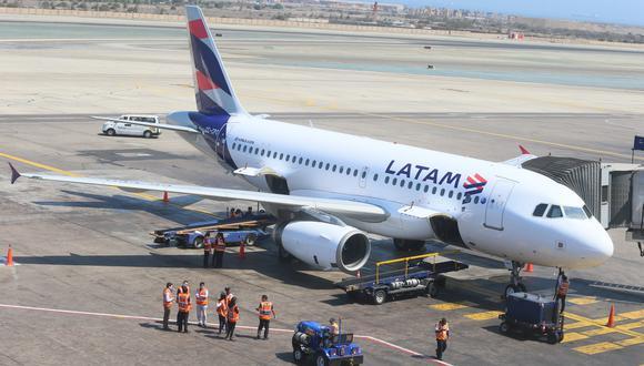 Latam Airlines Perú retomará su operación internacional en octubre. (Foto: Miguel Bellido | GEC)