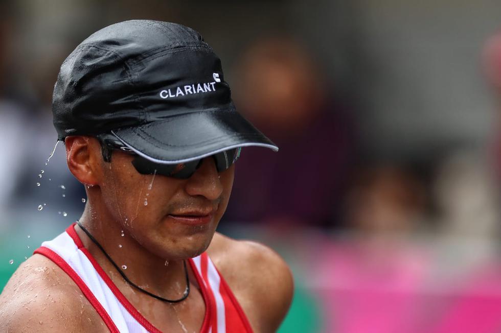 Juegos Panamericanos Lima 2019: Luis Campos no pudo seguir en la marcha atlética de 50 km por descompensación (GianCarloAvila/GEC)