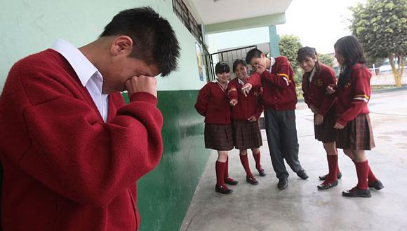 Las burlas son una de las manifestaciones más populares del acoso escolar. (Andina)