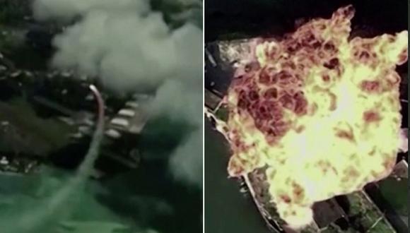 El video que simula el ataque a una base militar ha sido criticado en las redes sociales. (Foto: Captura YouTube)