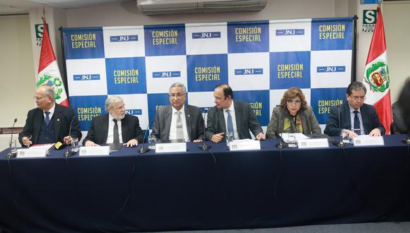 Comisión de la JNJ (Juan Ponce / GEC)