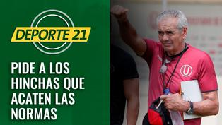 Gregorio Pérez pidió a los hinchas que acaten las normas