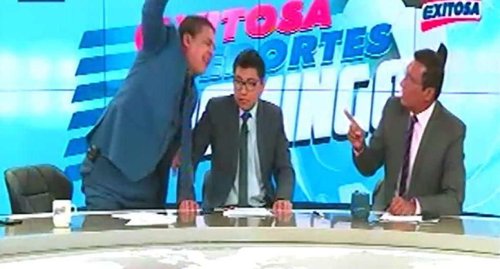 En el ojo de la tormenta. Gonzalo Núñez habría conducido en estado de ebriedad su programa deportivo en Exitosa Televisión. (Captura)