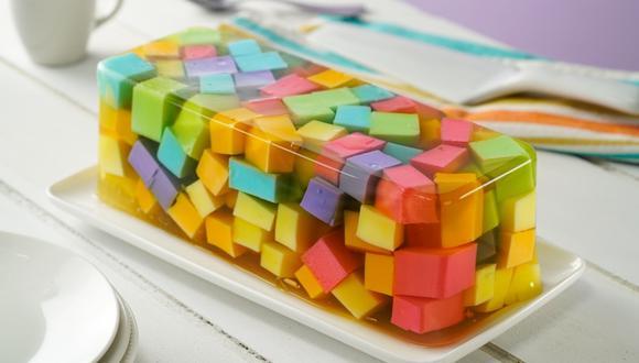Yogurts de distintos sabores le darán ese efecto lleno de color. (Foto: Kiwilimón)