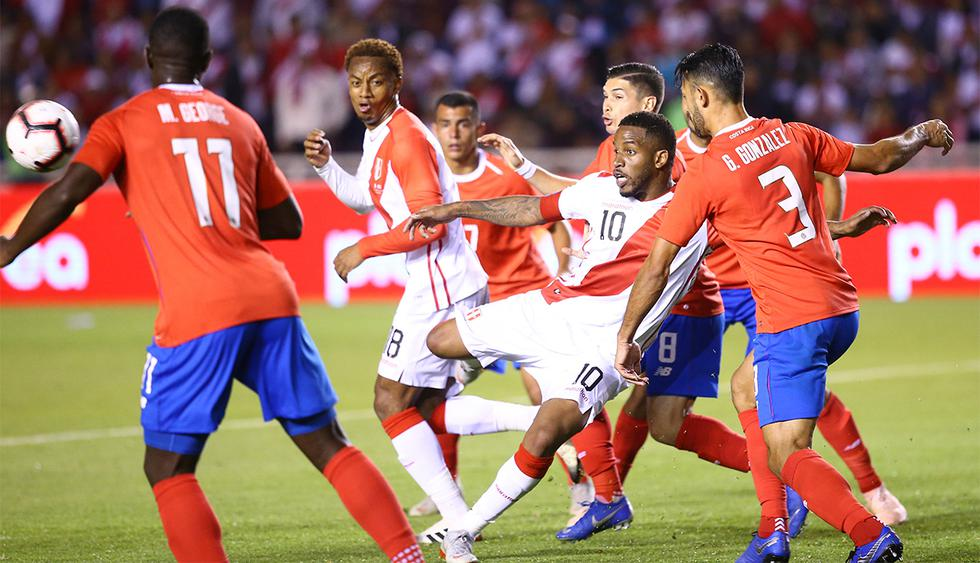 Este miércoles, Perú vs. Costa Rica se vuelven a ver las caras en un amistoso internacional. (Foto: GEC)