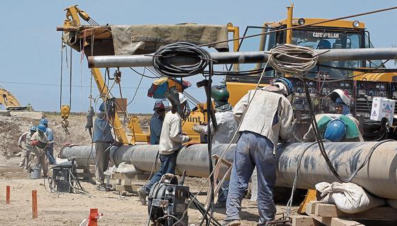 EN STAND BY. El proyecto del Gasoducto Sur Peruano está paralizado desde 2017 y su mantenimiento cuesta unos US$46 millones al año. (HANS BERNINZON)