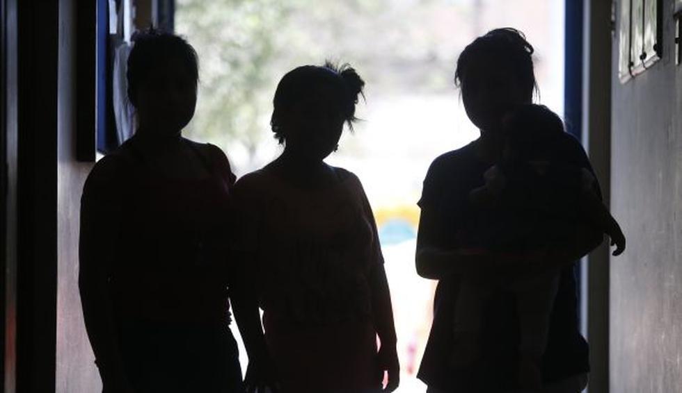 El Cedetep alberga 10 madres adolescentes de entre 12 y 17 años, que viven en el hogar con sus niños. (Mario Zapata)