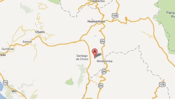 Diresa de La Libertad dispuso el envío de ambulancias, médicos y enfermeros a la zona. (G. Maps)