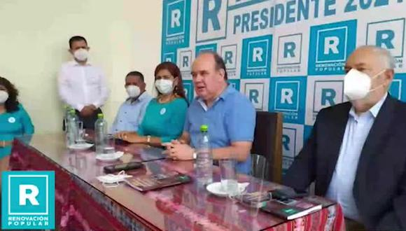 Rafael López Aliaga se refirió de manera indolente al caso de Ana Estrada Ugarte. (Foto: Facebook)