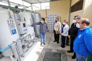 Callao: Ventanilla ya cuenta con una moderna planta de oxígeno