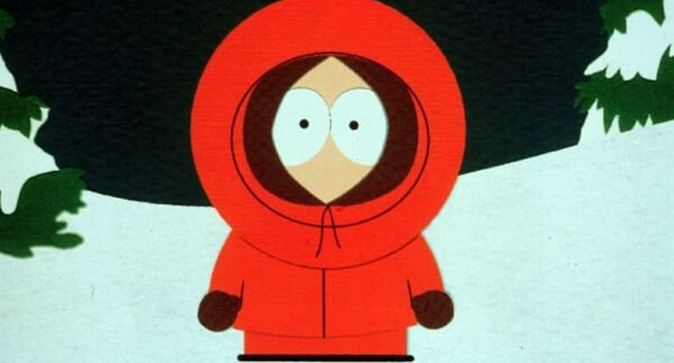 'South Park' – 'Kenny McCormick' - (Voz: Matt Stone). (Difusión)