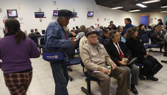 Los beneficiados son los pensionistas mayores de 65 años de la Ley 20530. (Perú21)
