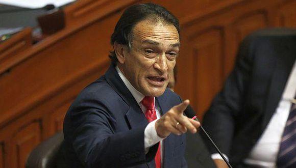 La fiscal de la Nación ha presentado ante el Congreso dos denuncias constitucionales contra Héctor Becerril. (USI)