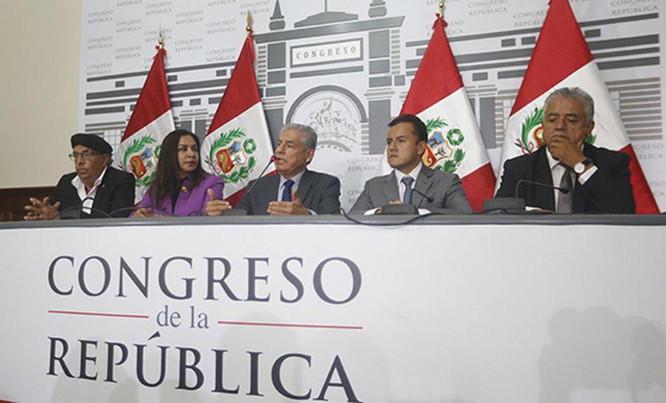 La bancada de Alianza para el Progreso (APP) se reunirá mañana para tomar una decisión. (Foto: USI)