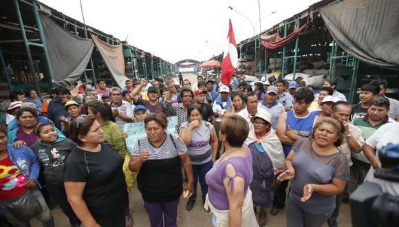 La Parada: Poder Judicial rechaza nuevo hábeas corpus a comerciantes. (César Fajardo)