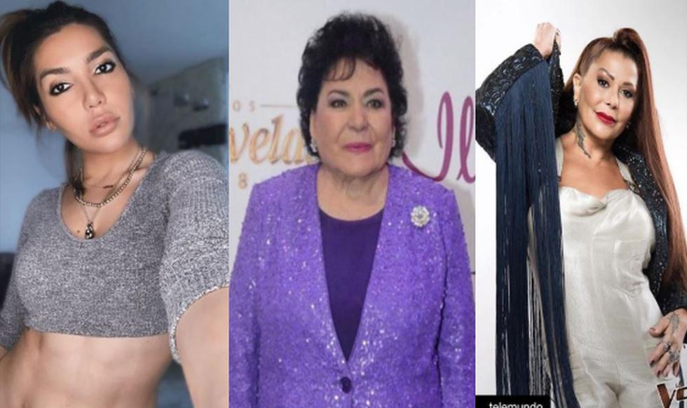 Hija de Alejandra Guzmán pide a actriz Carmen Salinas dejarle ser su hija postiza. | Instagram