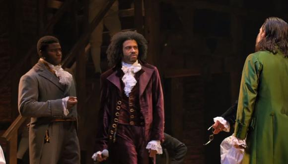 """""""Hamilton"""": el aclamado musical ya está disponible en Disney+ (Foto: captura)"""