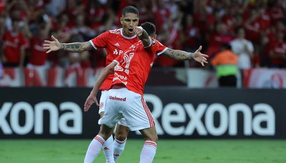 Inter de Paolo Guerrero y Tolima buscan llegar al grupo E de la Copa Libertadores, que conforman Gremio, Universidad Católica y América de Cali. (Foto: AFP)