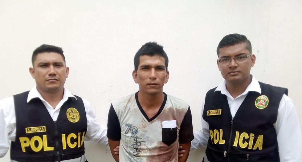 Sujeto confesó el crimen ante la Policía. En un primer momento dijo que su pareja había sido atacada por delincuentes. (PNP)