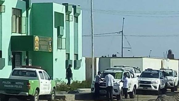 Ica: Una suboficial de la Policía de Carreteras de Pisco dio positivo a prueba de coronavirus.
